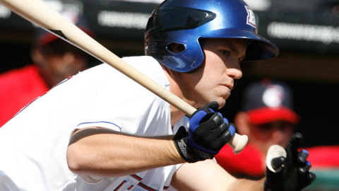 Thole had two of Buffalo's seven hits on Monday