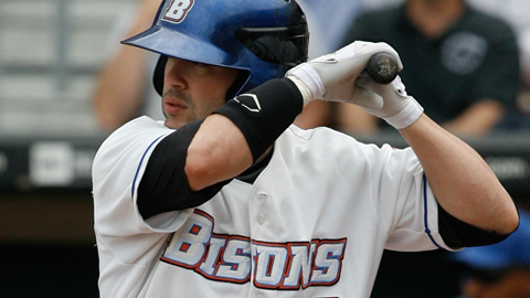Feliciano has posted a .323 average in two seasons with the Bisons.