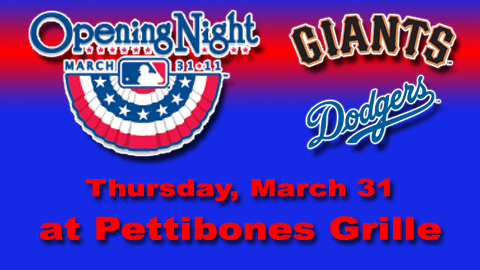 Door Prizes will include a CEREMONIAL FIRST PITCH