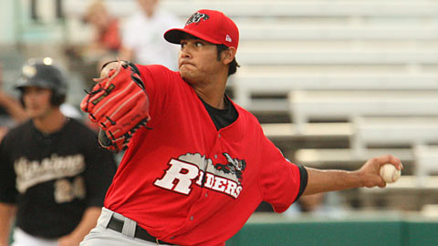 Martin Perez is ranked 23rd among MLB.com's Top 50 Prospects.
