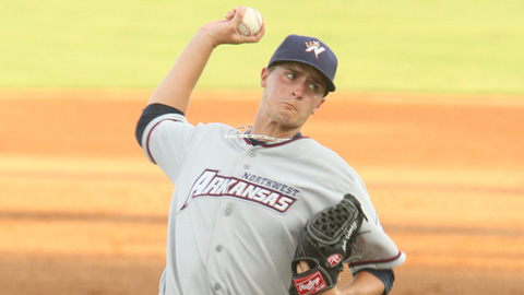 Jake Odorizzi is 5-3 with a 4.72 ERA in 12 starts at Double-A.