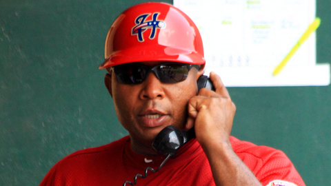 Senators manager Tony Beasley resides in Bowling Green, Va.