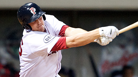 Ryan Lavarnway hit 32 homers across two levels on his way to Fenway Park.