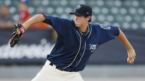 Tyler Skaggs was 9-6 with a 2.96 ERA in 27 starts across two levels.