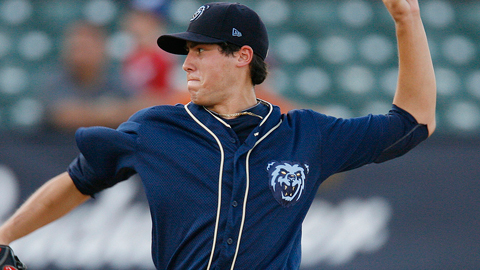 Tyler Skaggs leads the Southern League with 27 strikeouts.