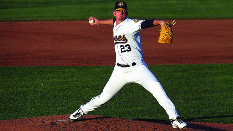 Sean Murphy leads the Midwest League with 31 strikeouts and is eighth in ERA.