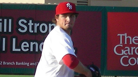 Kevin Siegrist yielded five runs in his season debut on May 6.