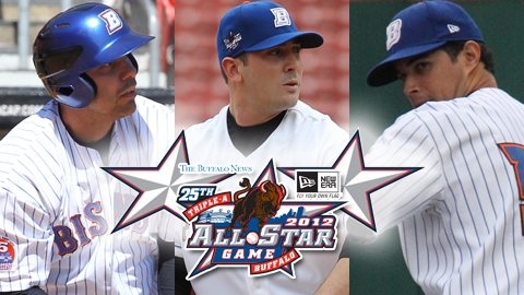 Pascucci, Harvey and Cabrera were named All-Stars on Wednesday.