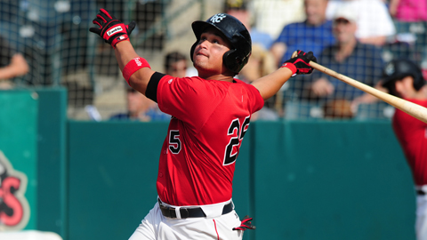 Oswaldo Arcia hit .320 with a .539 slugging percentage this season.
