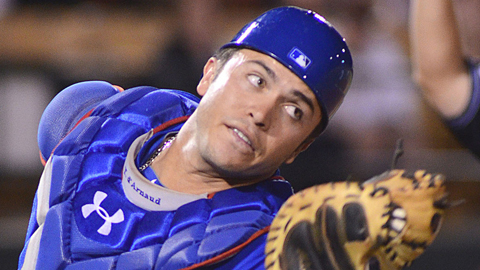 Travis d'Arnaud threw out 30 percent of potential basestealers at Las Vegas.